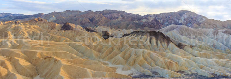 Zabriskie Point Panorama (High Res), Death Valley National Park Stock photo © Bertl123