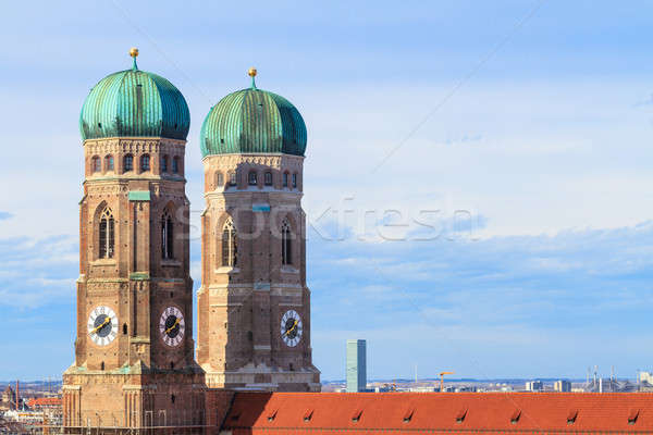 Stock photo: Munich, Frauenkirche, Cathedral of Our Dear Lady, Bavaria, Germa