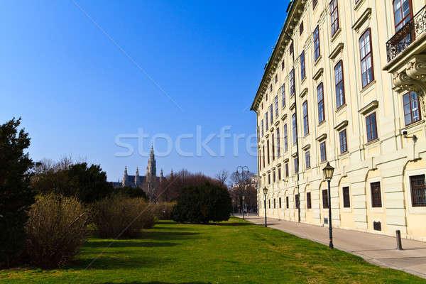 Viena palácio presidencial Áustria cidade ouvir Foto stock © Bertl123