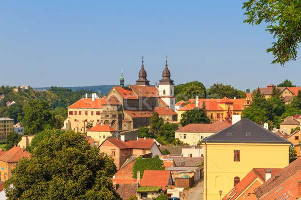 Trebic, old monastery and St. Procopus Basilica (a UNESCO world  Stock photo © Bertl123