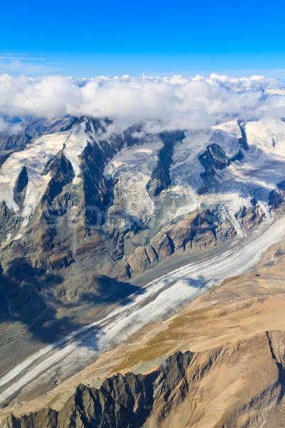 Pasterze Glacier at Grossglockner massif Stock photo © Bertl123