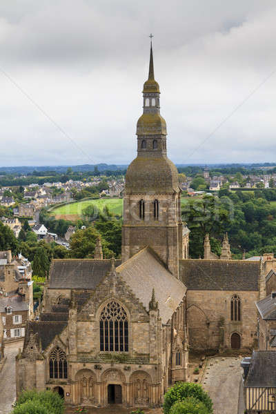 Cathedral of Dinan, Brittany, France Stock photo © Bertl123