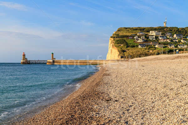 Normandy Coast near Fecamp, France Stock photo © Bertl123