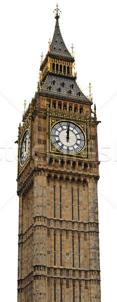 Big Ben Panorama (HighRes) - Palace of Westminster, London Stock photo © Bertl123