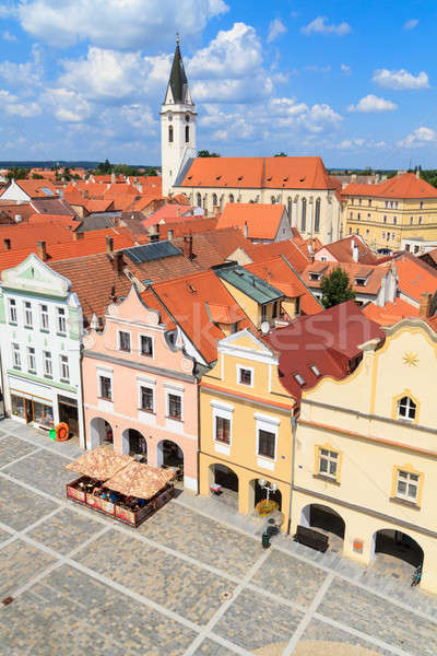 Historical city of Trebon (in German Wittingau), Czech Republic  Stock photo © Bertl123