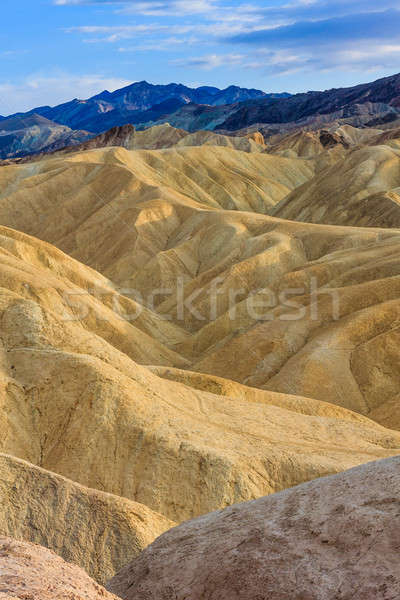 Stock photo:  Zabriskie Point, Death Valley National Park, California