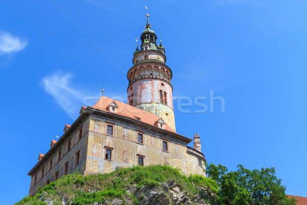 Cesky Krumlov / Krumau castle and tower, UNESCO World Heritage S Stock photo © Bertl123