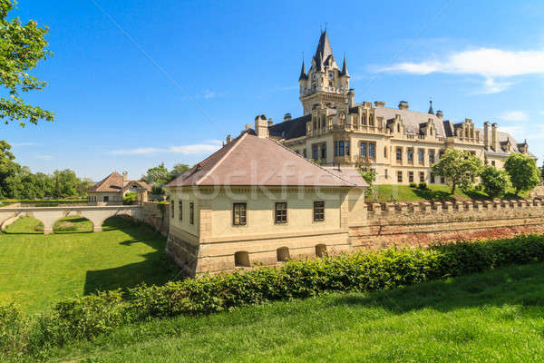 Grafenegg Castle near Vienna, Lower Austria Stock photo © Bertl123