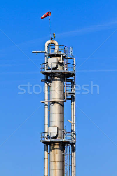 Cielo blu pesante industria complesso cielo Foto d'archivio © Bertl123