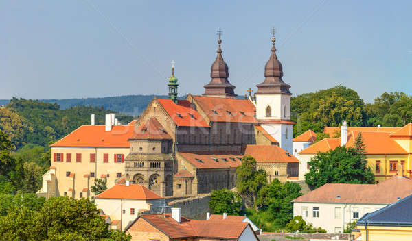 öreg kolostor bazilika unesco világ örökség Stock fotó © Bertl123