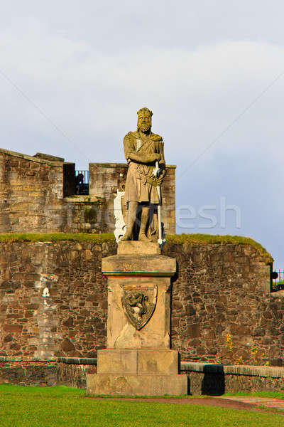 King Robert The Bruce statue, Castle of Stirling, Scotland  Stock photo © Bertl123