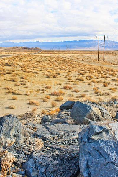 California Desert Landscape near Ridgecrest, CA Stock photo © Bertl123