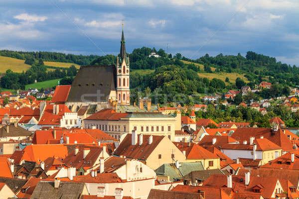 Repubblica Ceca chiesa santo casa costruzione città Foto d'archivio © Bertl123