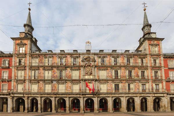 Madrid, Plaza Mayor, Casa de la Panaderia, Spain Stock photo © Bertl123