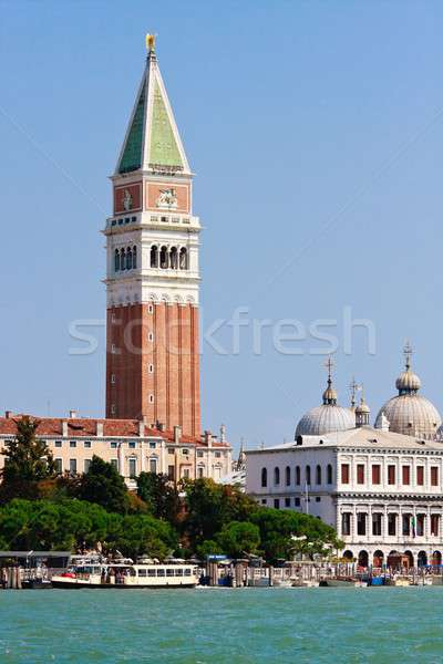 San Marco and Campanile, Venice, Italy Stock photo © Bertl123