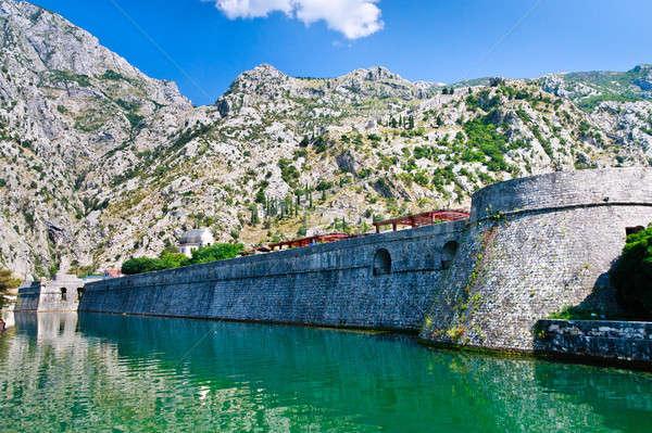 şehir duvar Karadağ unesco dünya miras Stok fotoğraf © Bertl123