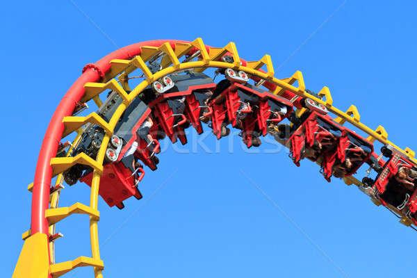 Rollercoaser Ride Stock photo © Bertl123