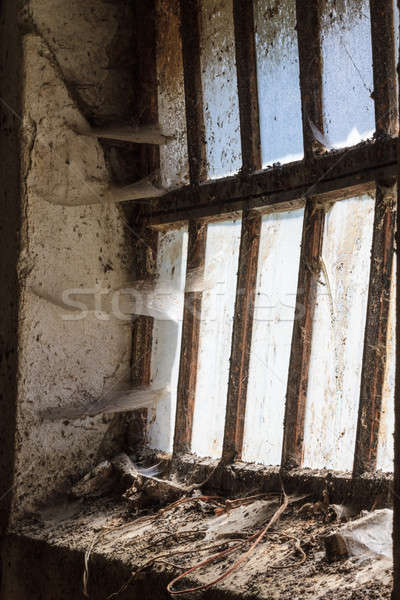 Old window with stains and cobwebs  Stock photo © Bertl123