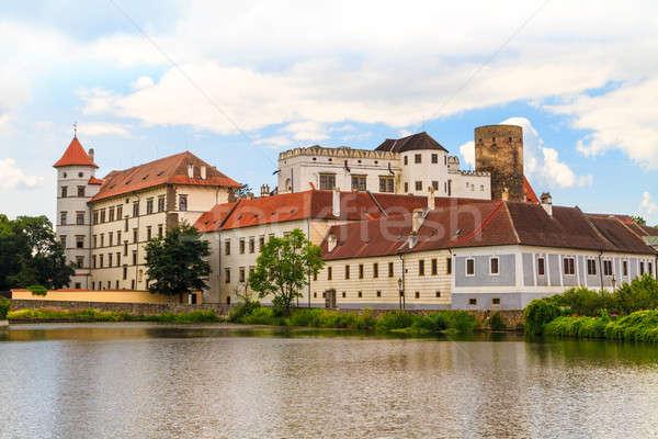 Jindrichuv Hradec (Neuhaus) castle in Southern Bohemia, Czech Re Stock photo © Bertl123