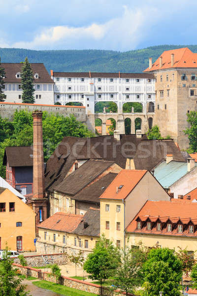 Cesky Krumlov / Krumau, UNESCO World Heritage Site Stock photo © Bertl123