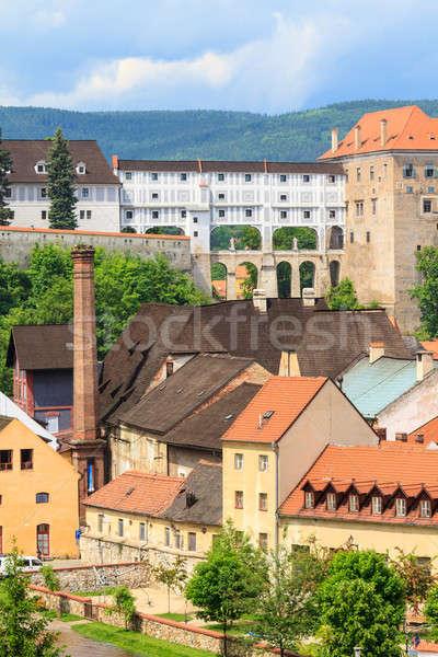 Unesco dünya miras ev Bina Stok fotoğraf © Bertl123