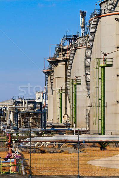 Blue Sky промышленности комплекс небе Сток-фото © Bertl123