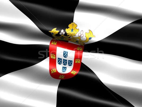 Flag of Ceuta Stock photo © bestmoose