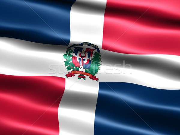 Flag of the Dominican Republic Stock photo © bestmoose