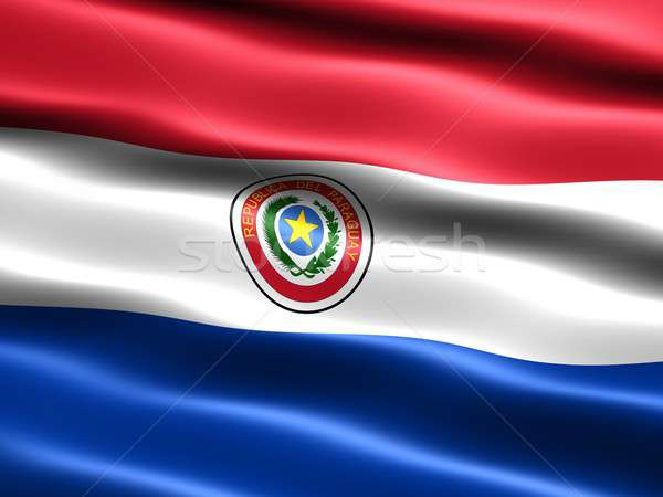 Flag of Paraguay Stock photo © bestmoose