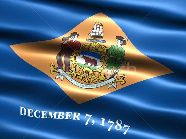 Flag of the state of Delaware Stock photo © bestmoose