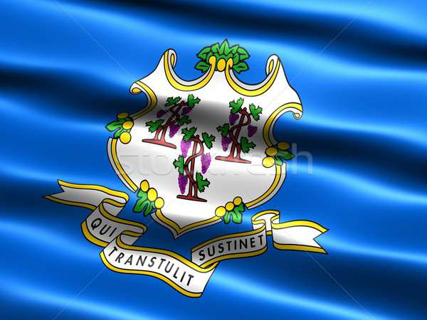 Flag of the state of Connecticut Stock photo © bestmoose