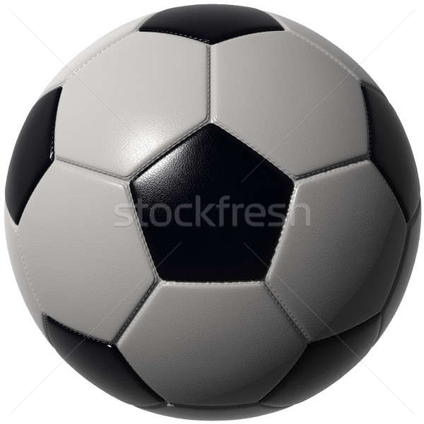 Soccer ball isolated with stunning details Stock photo © bestmoose