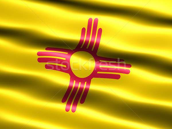 Flag of the state of New Mexico Stock photo © bestmoose