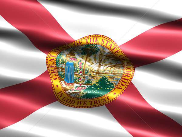 Flag of the state of Florida Stock photo © bestmoose