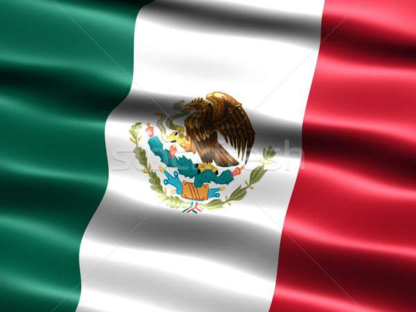 Flag of Mexico Stock photo © bestmoose