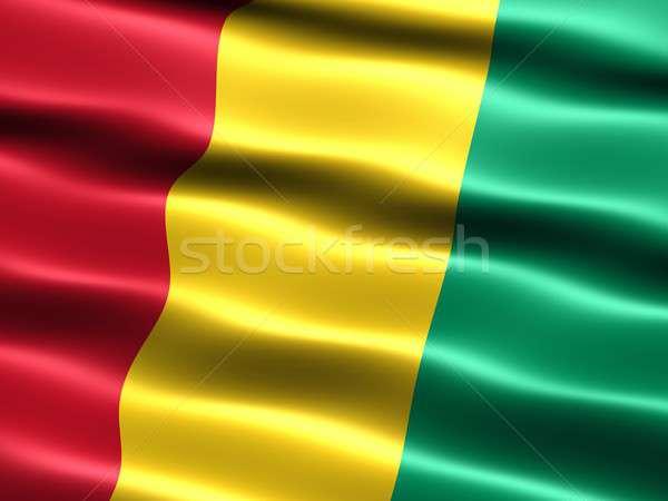 Flag of Guinea Stock photo © bestmoose