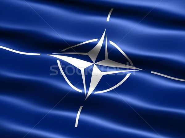 Flag of the NATO Stock photo © bestmoose