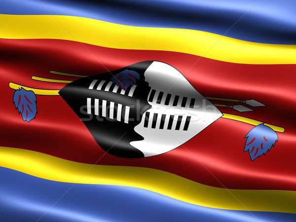Flag of Swaziland Stock photo © bestmoose