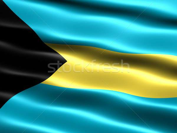 Flag of the Bahamas Stock photo © bestmoose