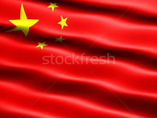 Flag of the People's Republic of China Stock photo © bestmoose