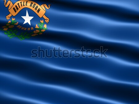 Flag of the state of Nevada Stock photo © bestmoose
