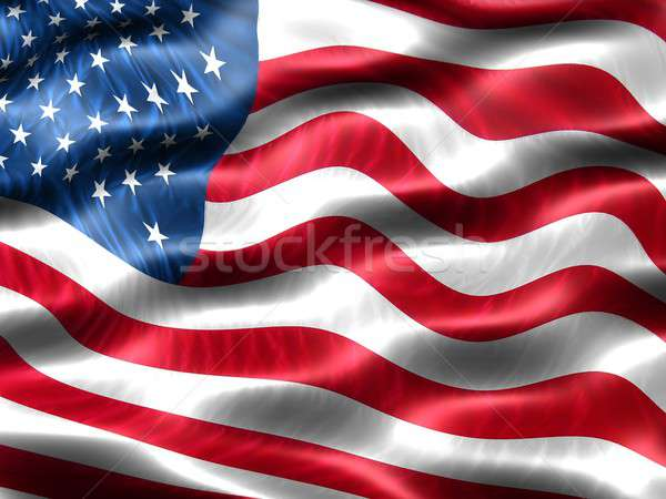 Flag of the United States of America Stock photo © bestmoose