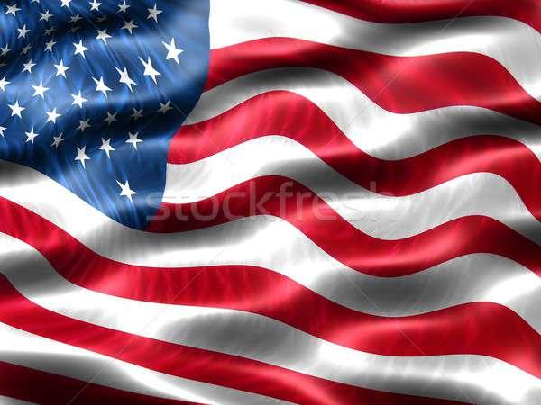 Bandeira Estados Unidos américa computador gerado ilustração Foto stock © bestmoose