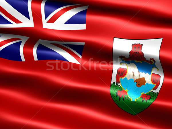 Flag of Bermuda Stock photo © bestmoose