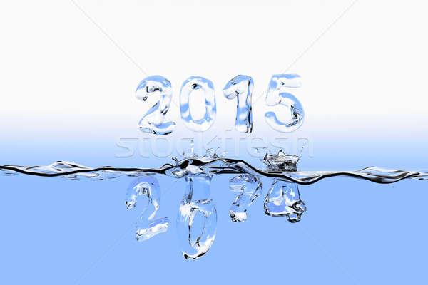 End of year 2014 splash Stock photo © bestmoose