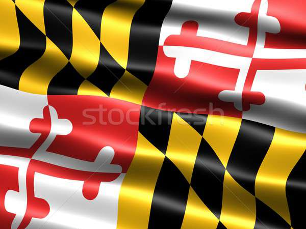 Flag of the state of Maryland Stock photo © bestmoose