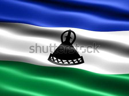 Stock photo: Flag of Lesotho