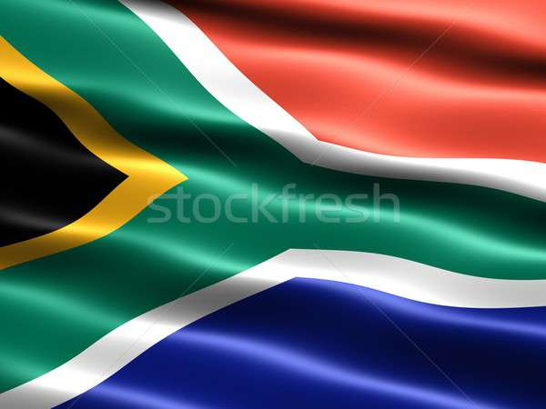 Flag of South Africa Stock photo © bestmoose