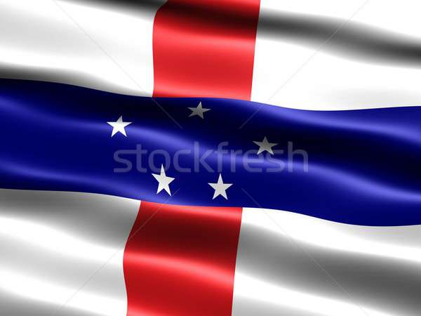 Flag of the Netherlands Antilles Stock photo © bestmoose