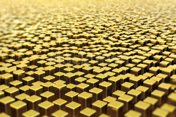 Surface of golden bars Stock photo © bestmoose